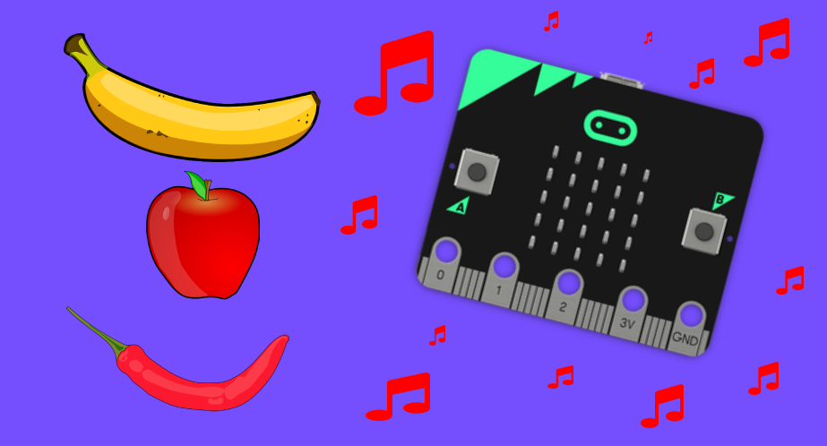 Microbit Fruit and Veg Piano