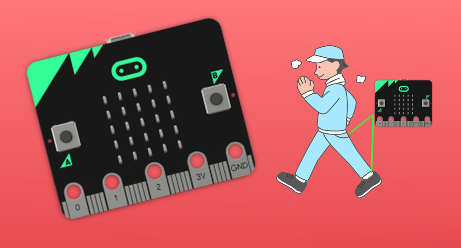Microbit Step Counter